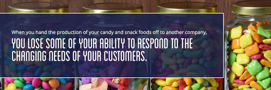 risk of handing your candy off to another company